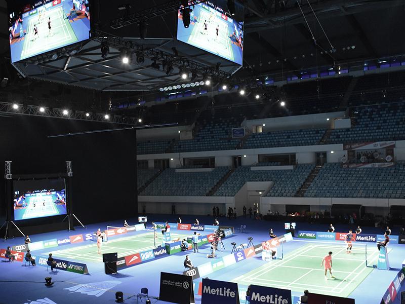 Hamdan Sports Complex Dubai Badminton Championships S