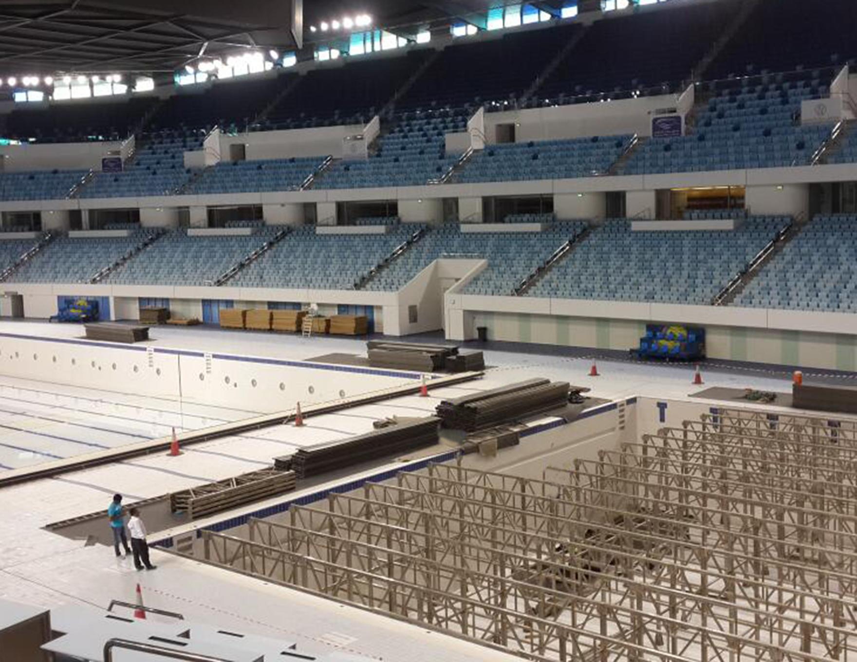 Hamdan Sports Complex Dubai Dry Sports Conversion L