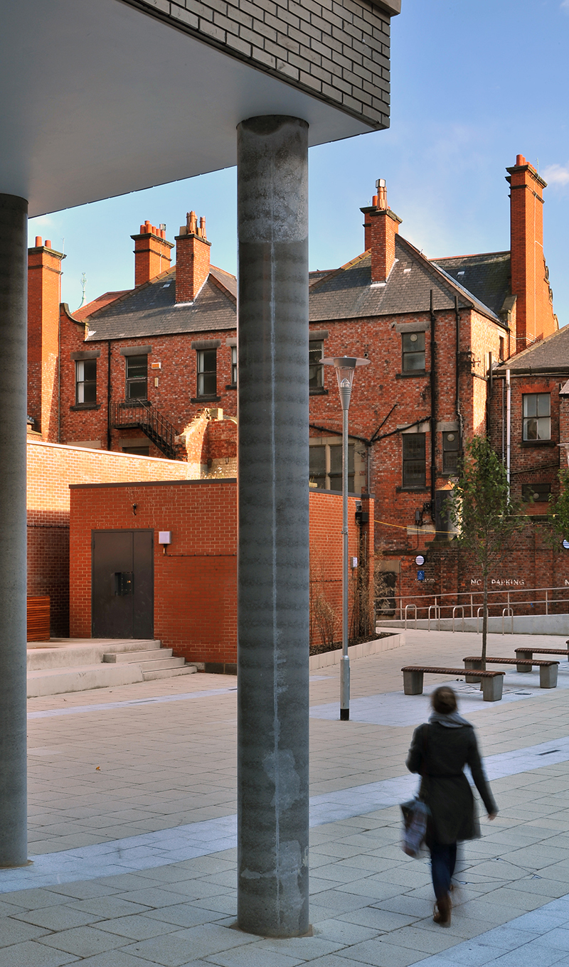 Into Newcastle University Student Residences Public Realm Sp