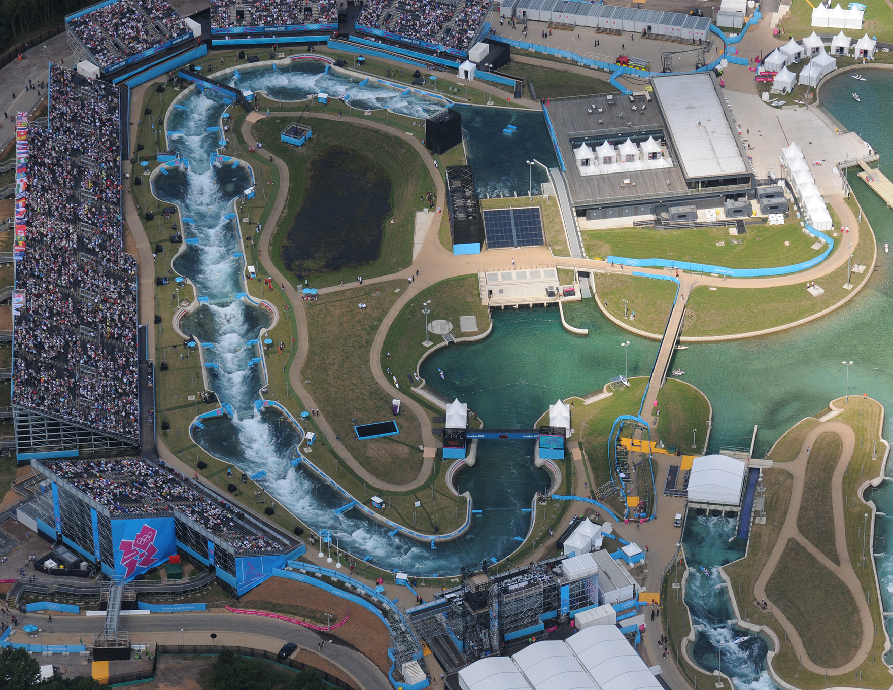 Lee Valley White Water Centre Hertfordshire London 2012 Olympic Games L