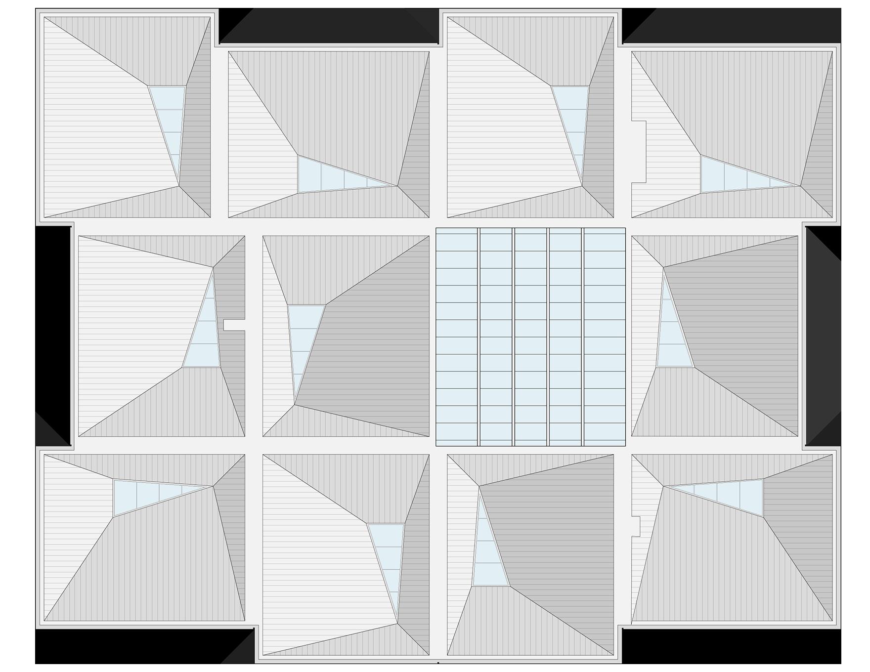 Durham University Lower Mountjoy Modular Roof Plan L