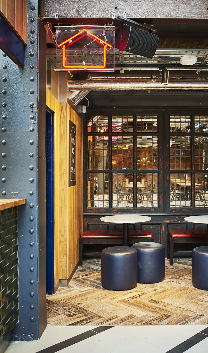 Market Hall Victoria Station London Destination Modern Dining Main Exposed Seating Interior Sp