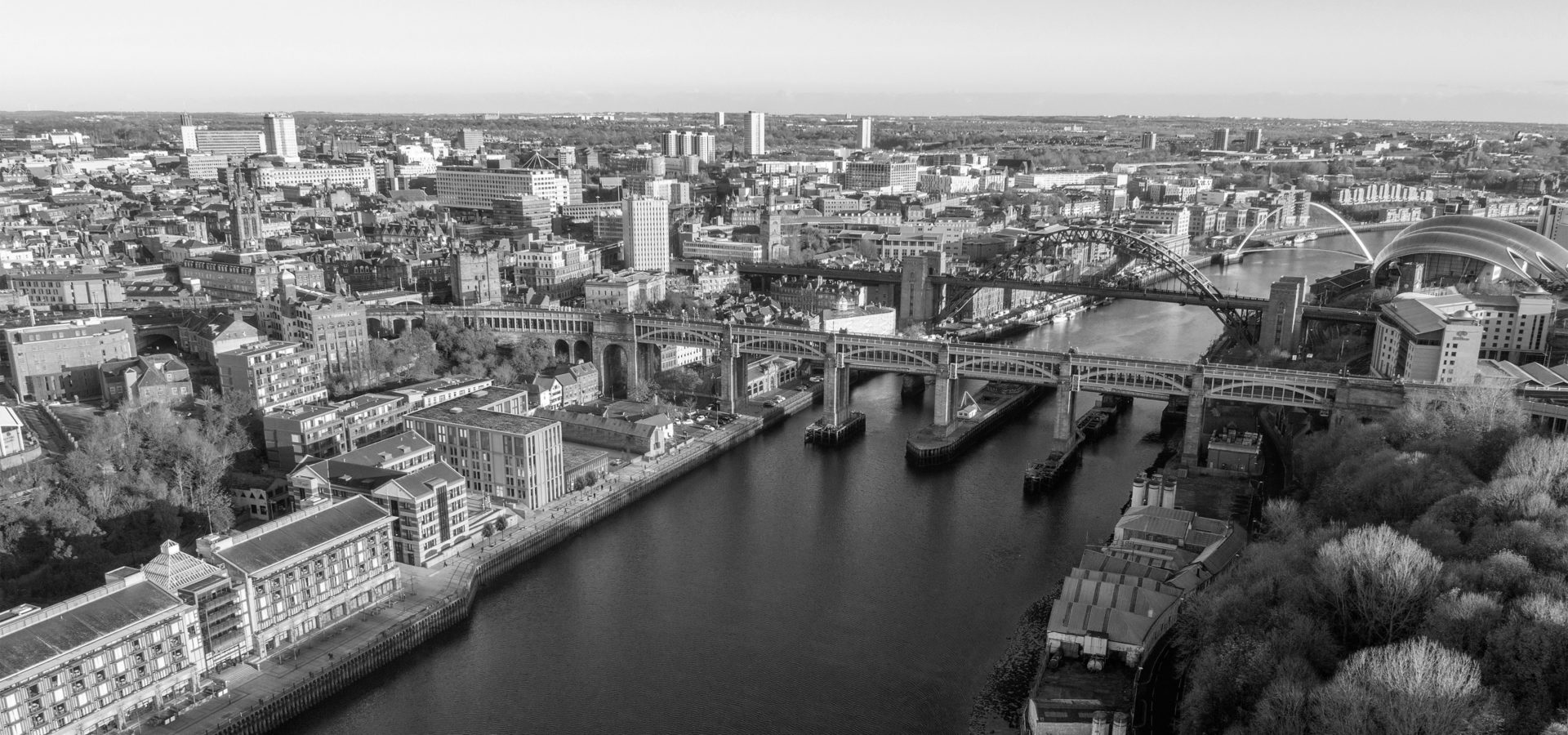Melia Innside Newcastle Riverside Hotel Aerial View Of Newcastle Quayside Hh