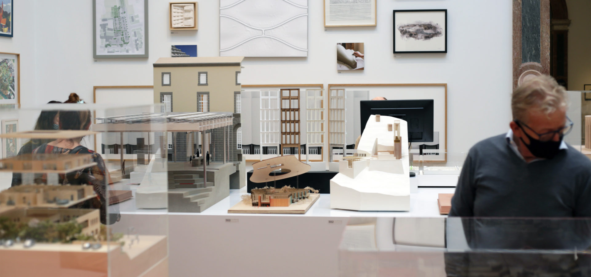 Ra Summer Exhibition Royal Academy Of Arts Faulknerbrowns Architects Sunderland City Hall Models Architecture Room Hh