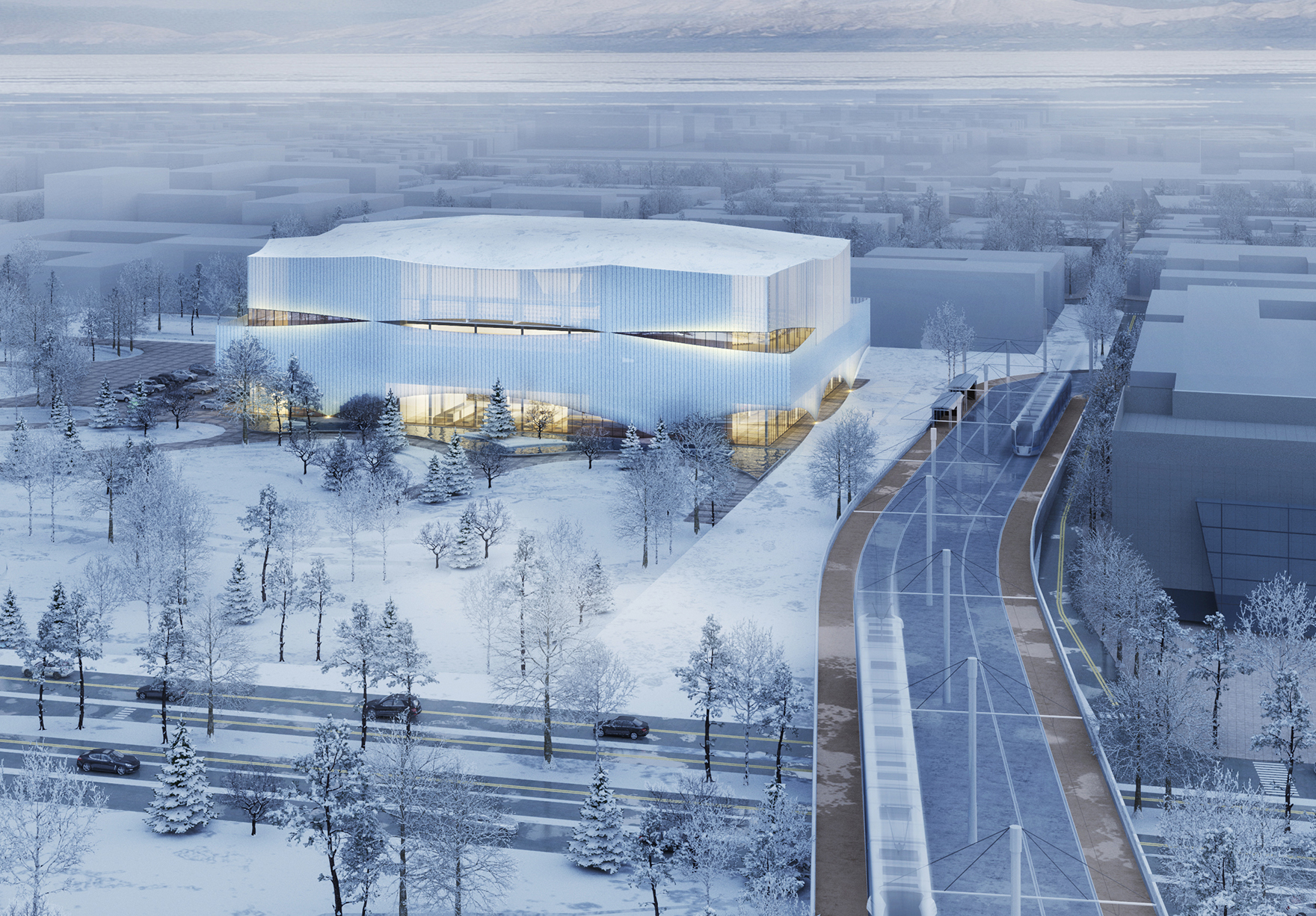 Angers Patinoire Ice Arena France Sport Leisure External View Surroundings Lh