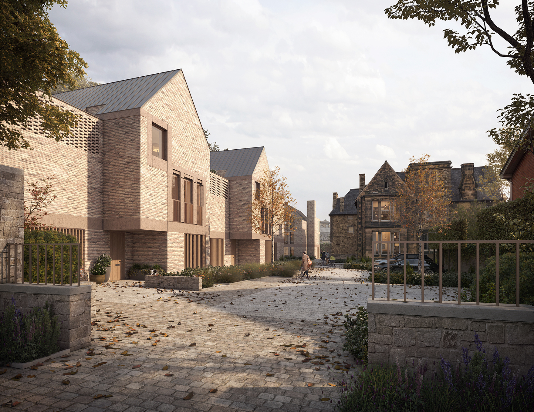 Ashfield Towers Faulknerbrowns Architects Housing Preservation Reuse Entrance View L