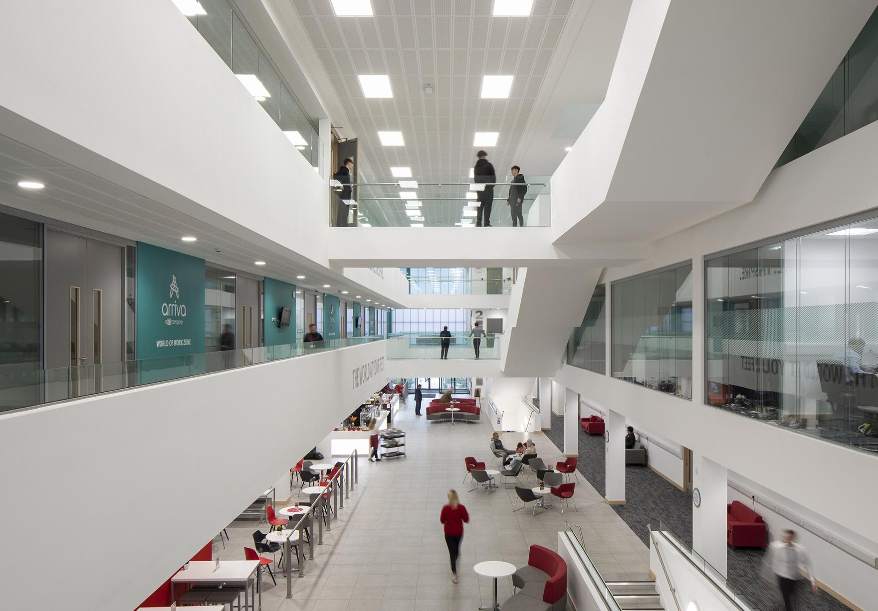 Beacon Of Light Sunderland Sport Education Workplace Football Barn Faulknerbrowns Architects Lh