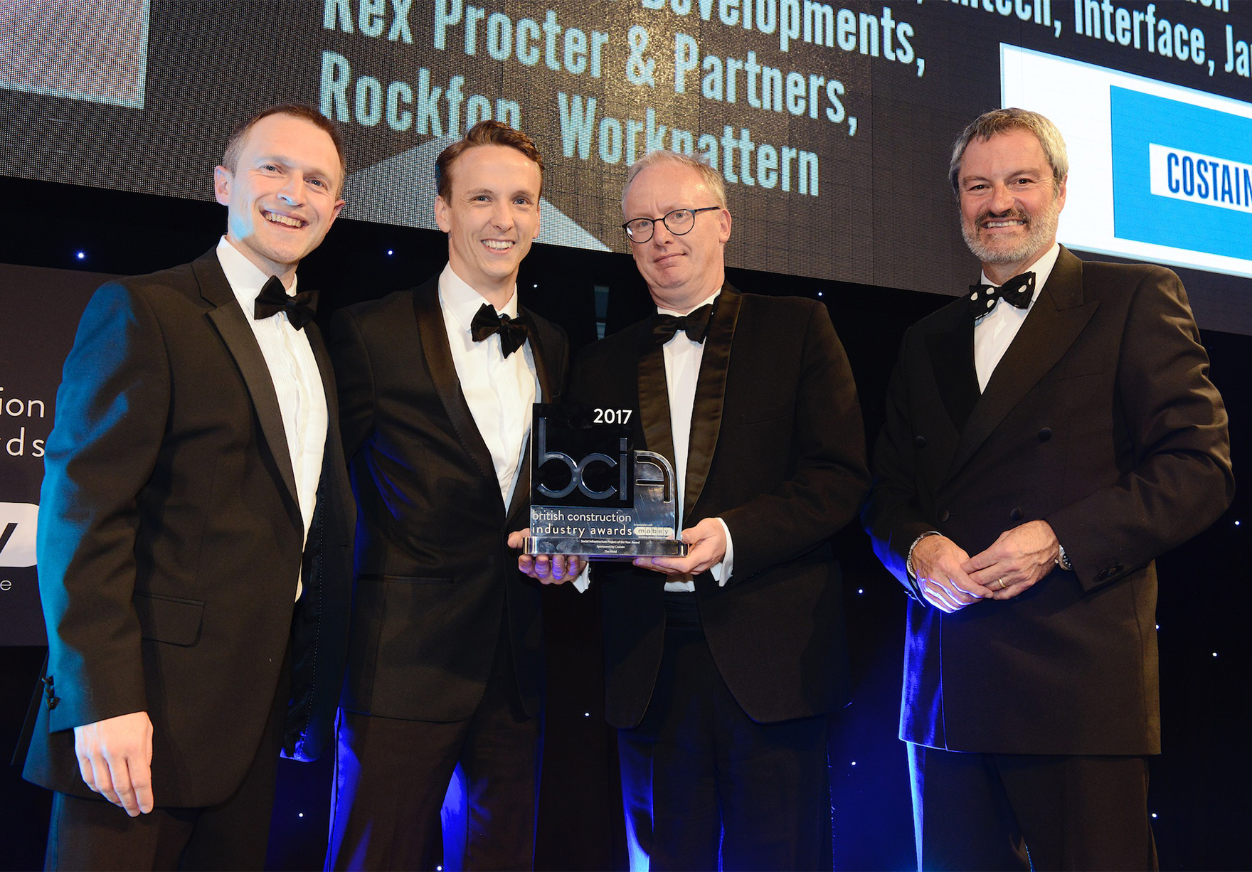 British Construction Industry Awards Social Infrastructure Project Of The Year The Word Presentation Lh