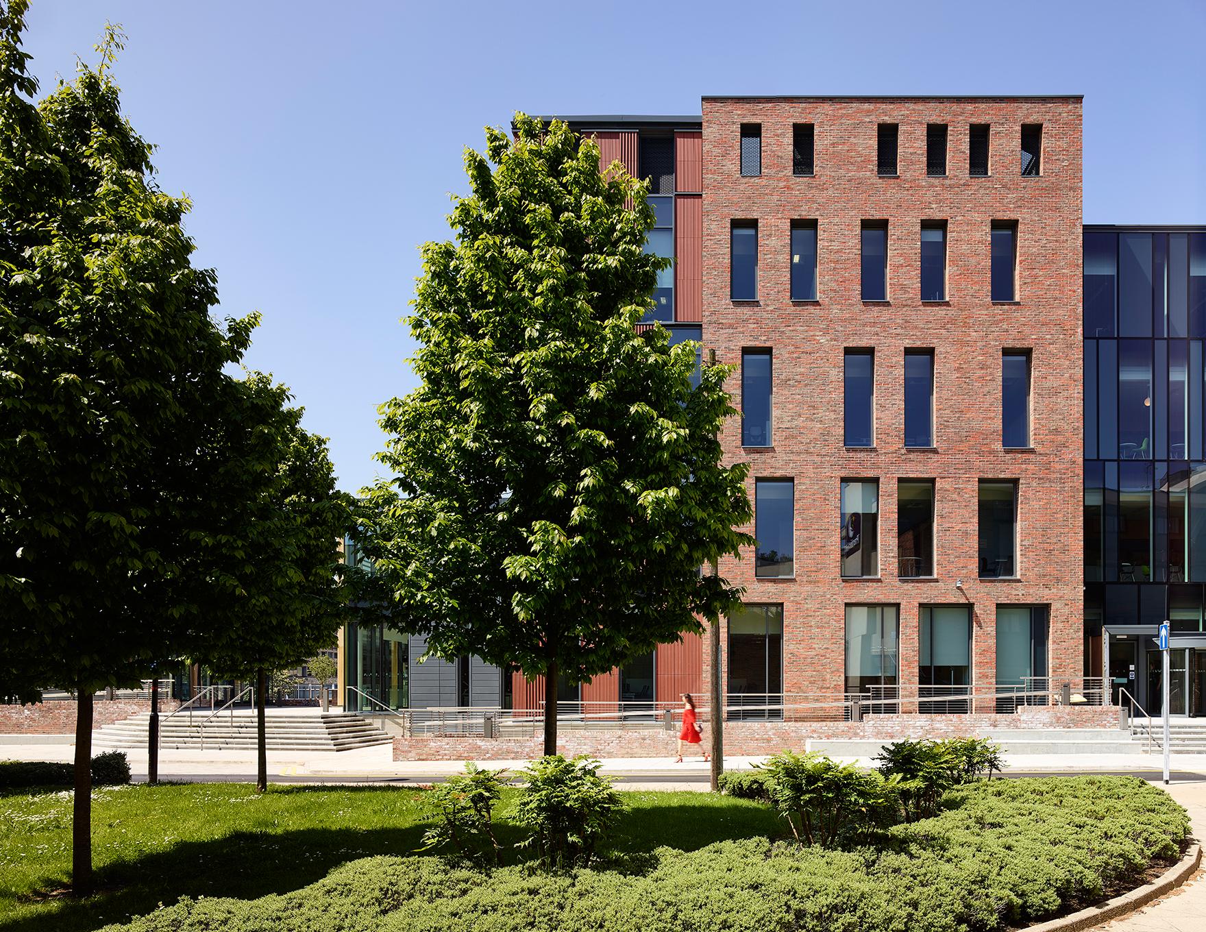 Freemans Reach Durham Office Masterplan Leisure Elevation L