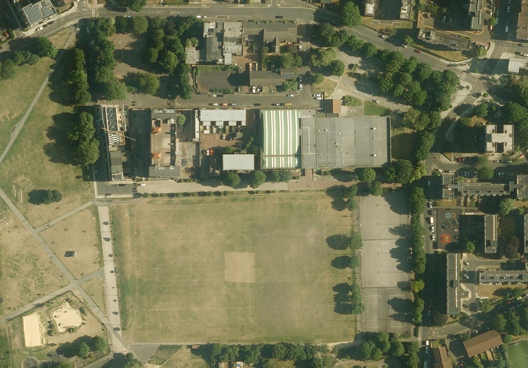 Hackney Britannia Leisure Centre London Sport Aerial Proposed Site Lh