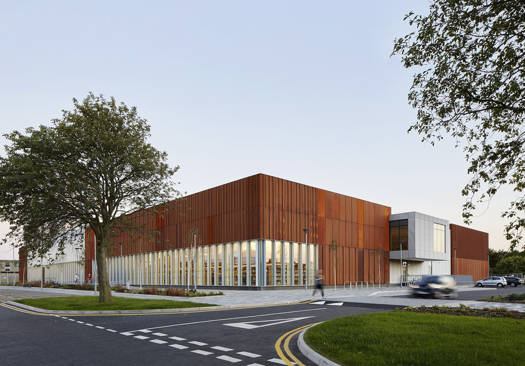 Hebburn Central Sport Leisure Pool Public Library Building Active Frontage Lh