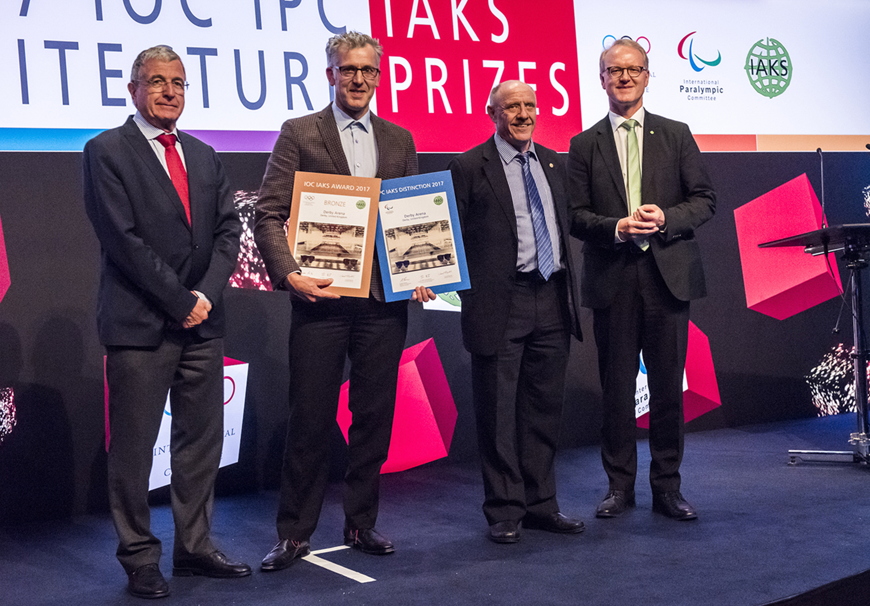 Iaks Awards International Sports Architecture Awards Derby Arena Presentation Lh
