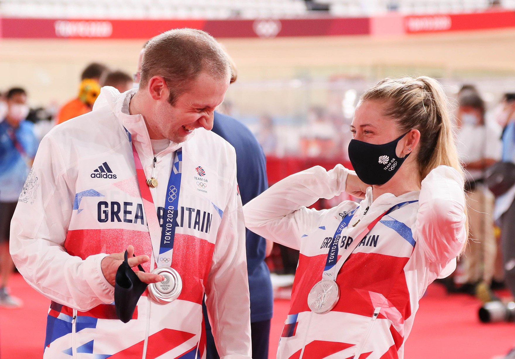 Laura And Jason Kenny Tokyo Olympics Medal Winners Lh