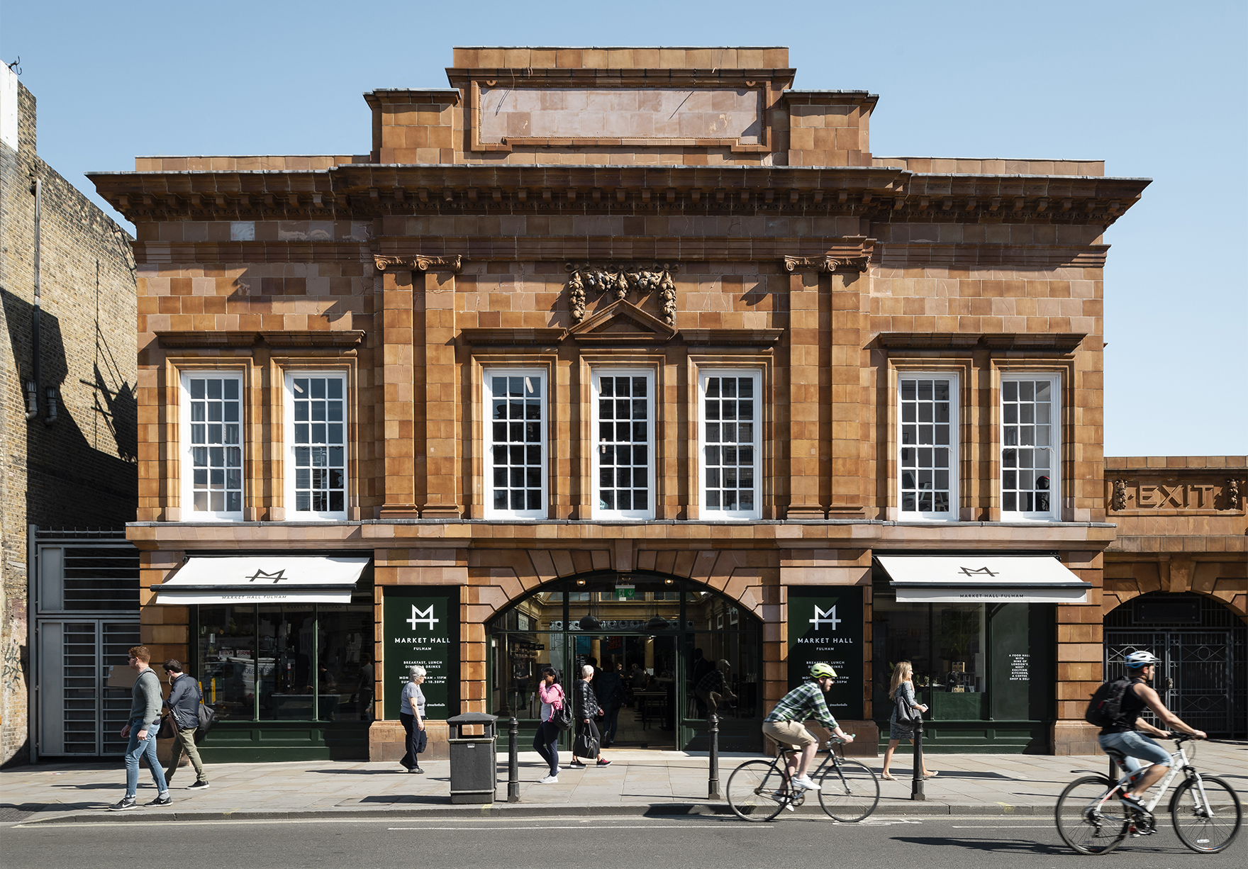 Market Hall Fulham Opens Faulknerbrowns
