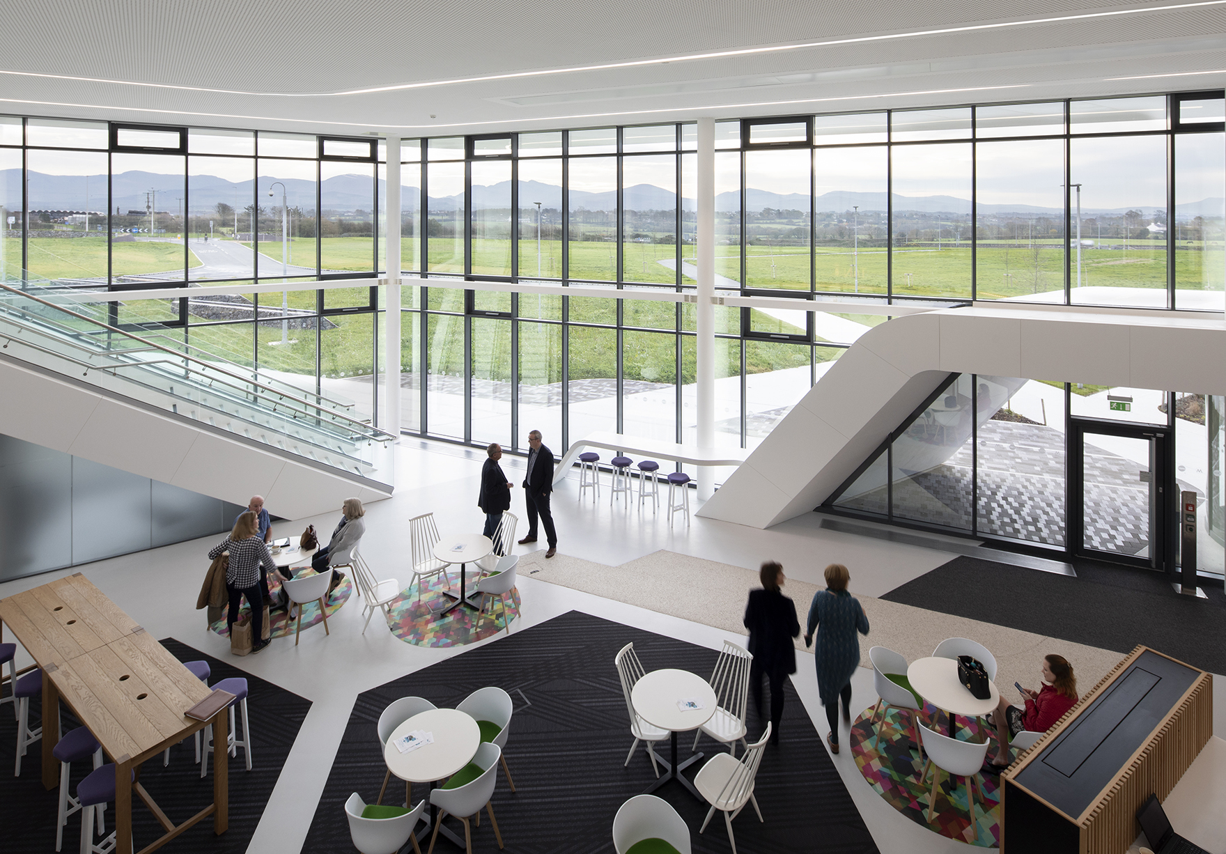 Menai Science Park Anglesey Wales Incubator Labs Offices Open Innovation Space View To Snowdonia Lh