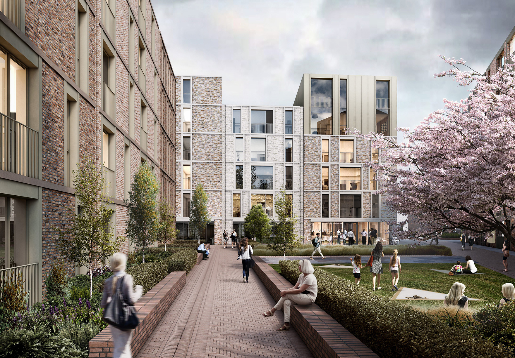 Milburngate Durham Masterplan Residential Office Development Lh