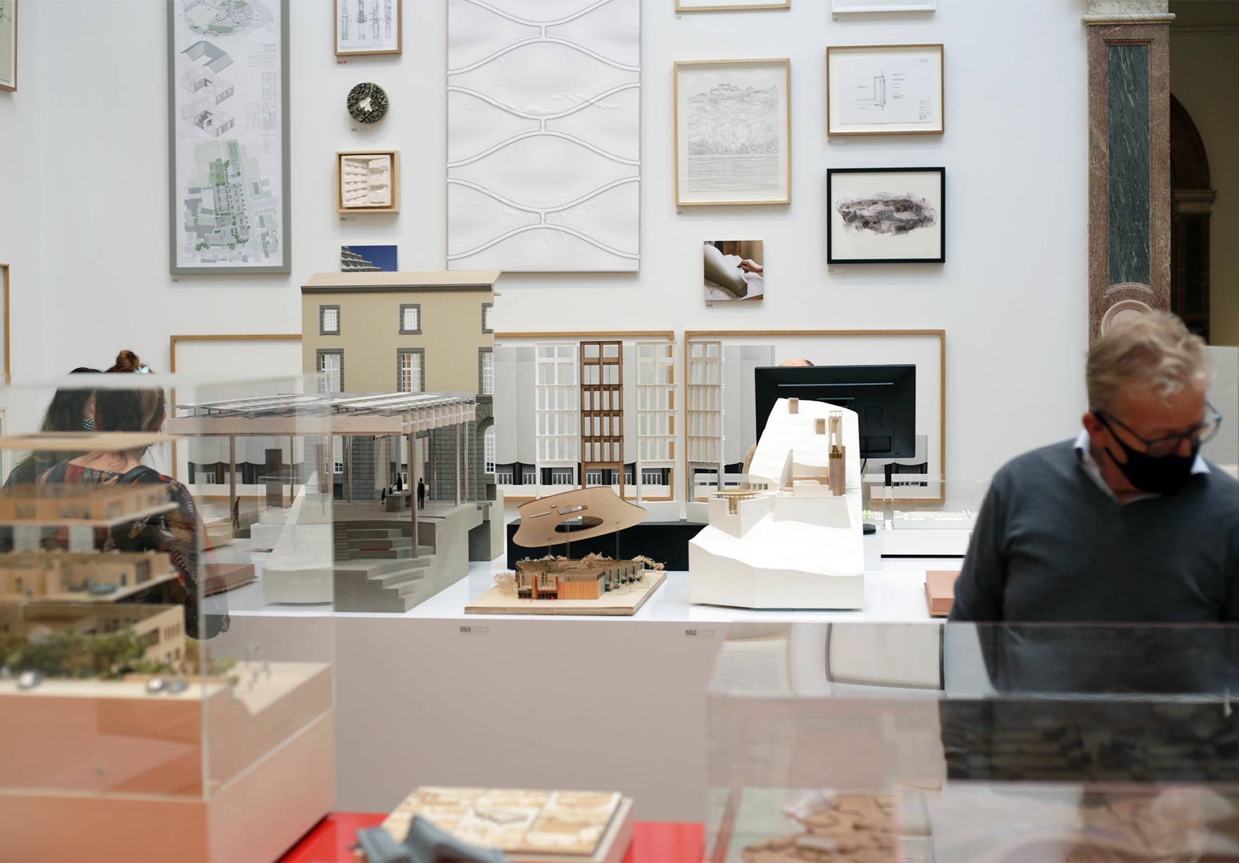 Ra Summer Exhibition Royal Academy Of Arts Faulknerbrowns Architects Sunderland City Hall Models Architecture Room Lh