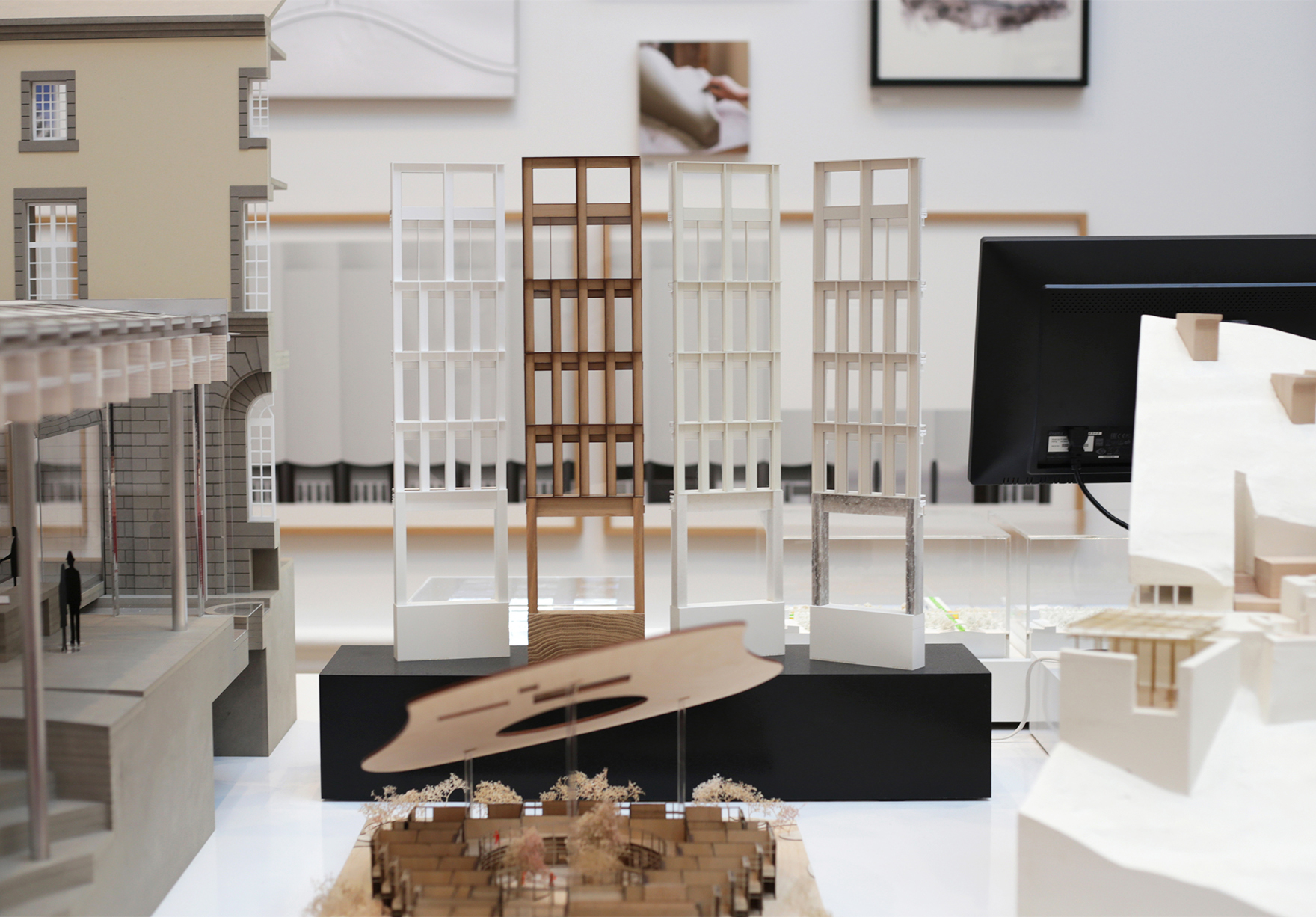 Ra Summer Exhibition Royal Academy Of Arts Faulknerbrowns Architects Sunderland City Hall Models Lh