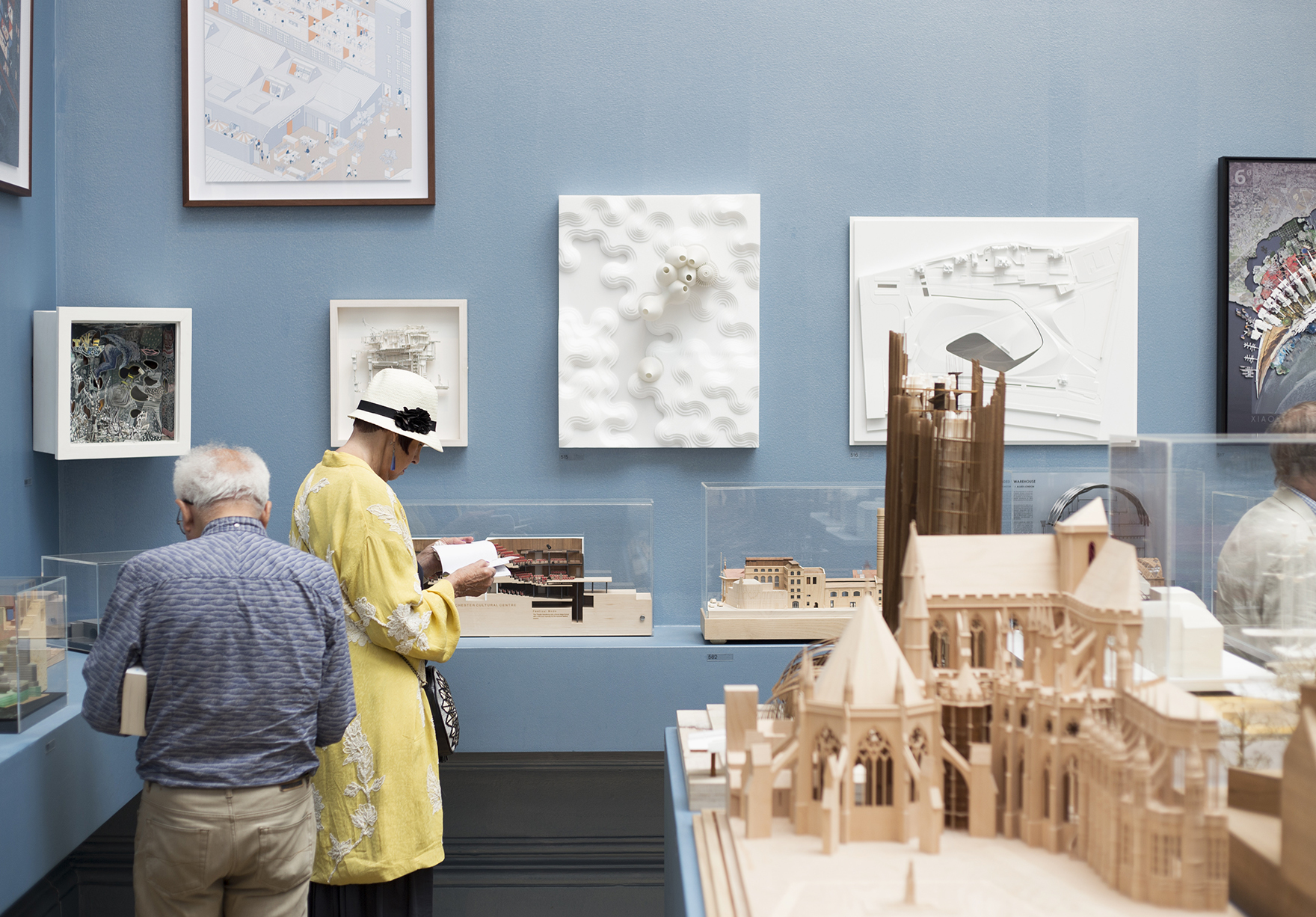 Royal Academy Ra Summer Exhibition Germination Model In The Exhibition Lh