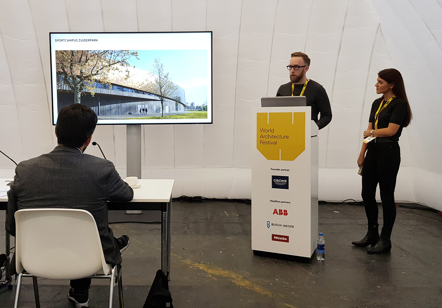 Sportcampus Zuiderpark Highly Commended Sports Building At World Architecture Festival 2 Lh