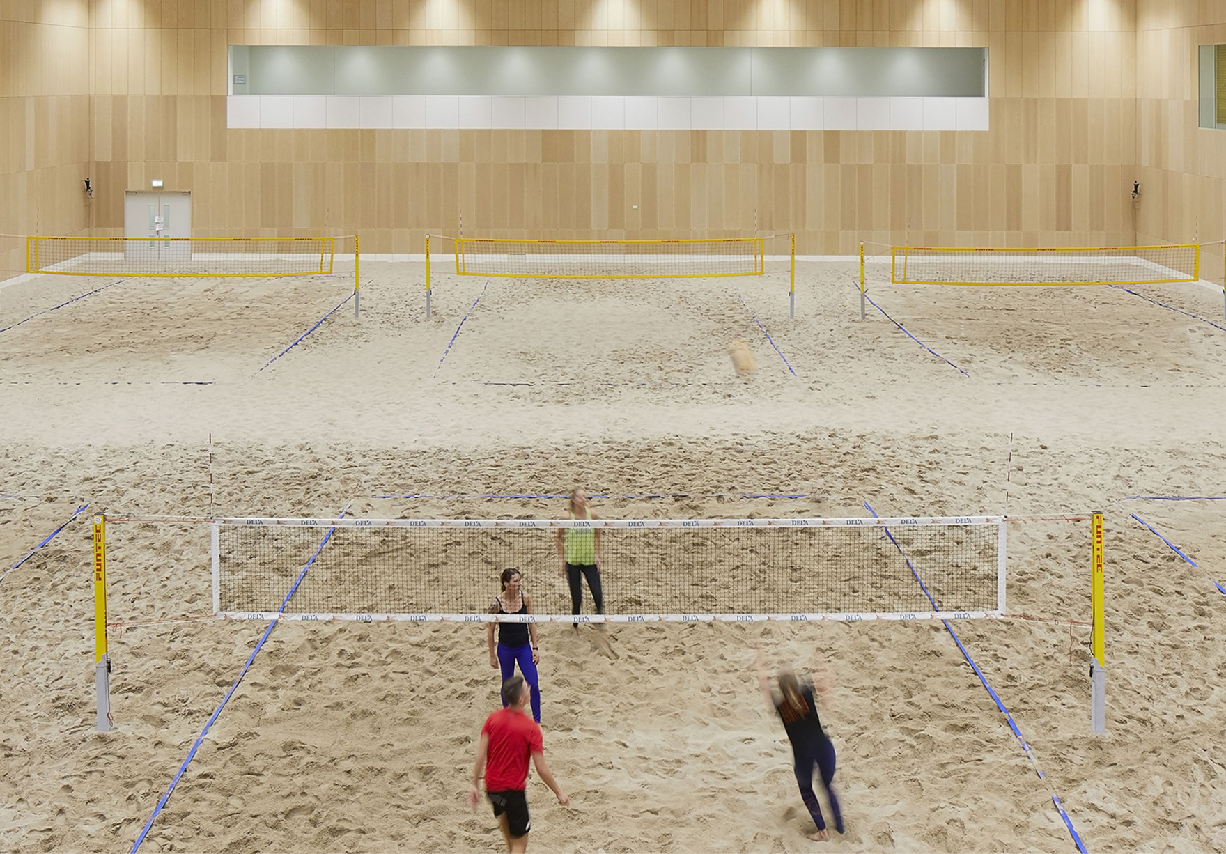 Sportcampus Zuiderpark The Hague Den Haag Netherlands Sport Education Beach Volleyball Hall Lh