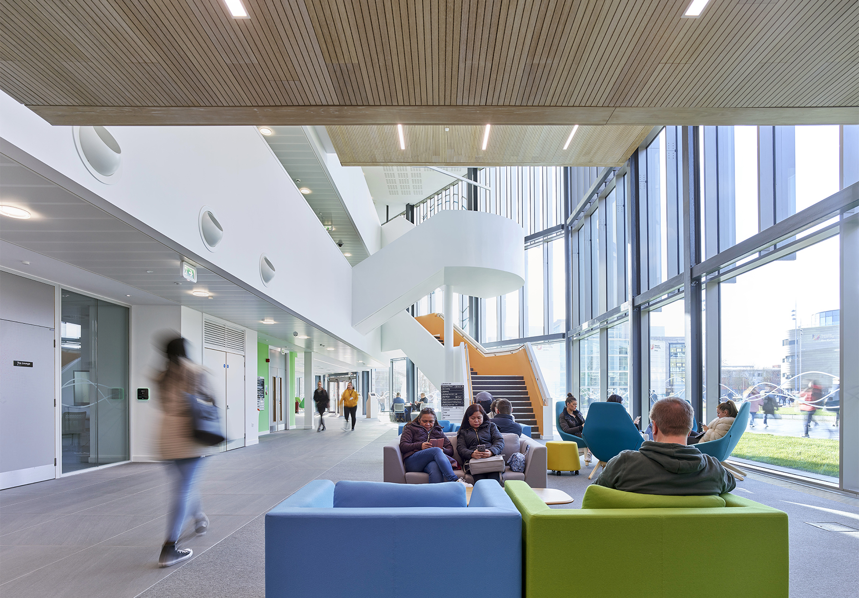 Student Life Building Rics Social Impact Award Faulknerbrowns Architects Education Social Wellbeing Space Lh