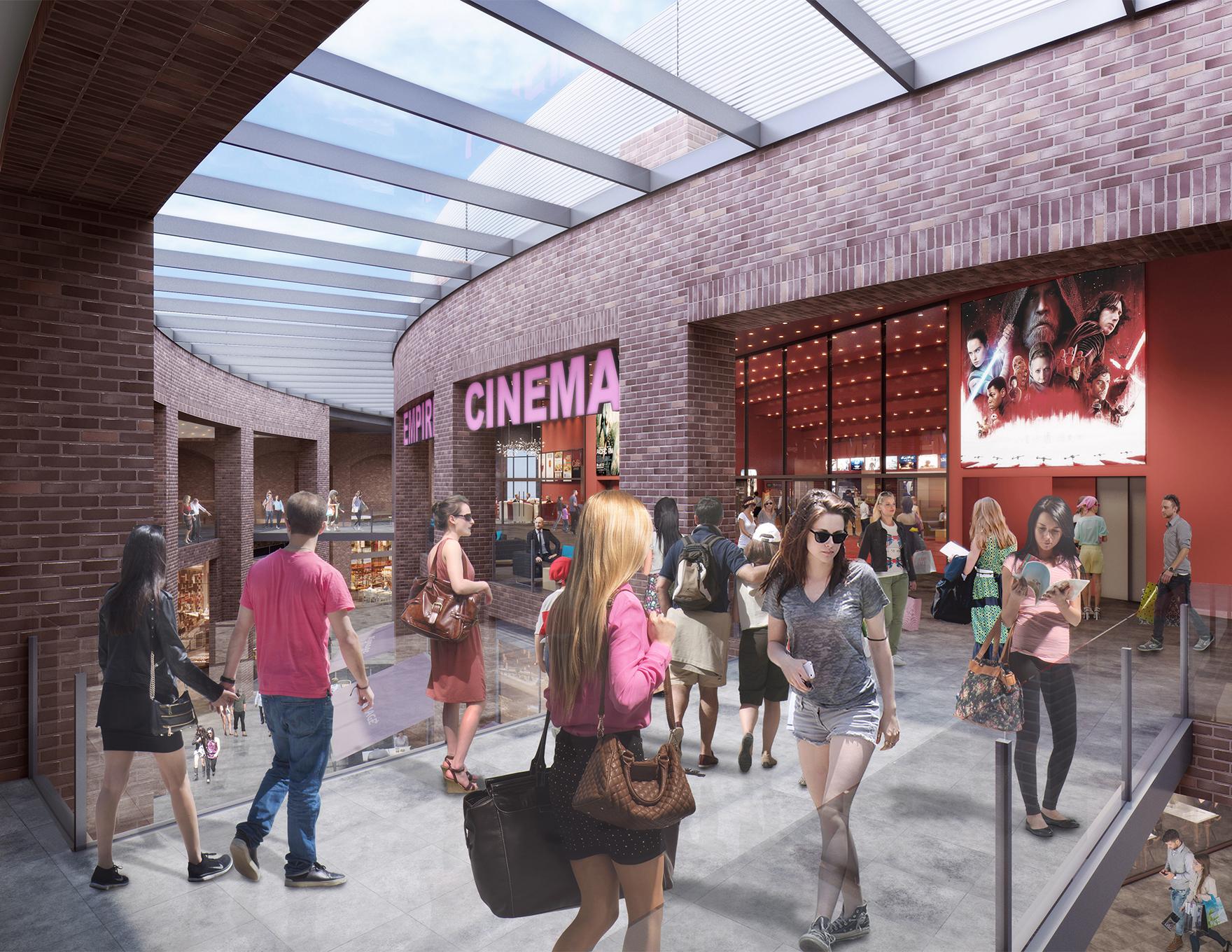 Swindon Snow Centre Indoor Snow Ski Slope Leisure Destination Cinema Entrance View L
