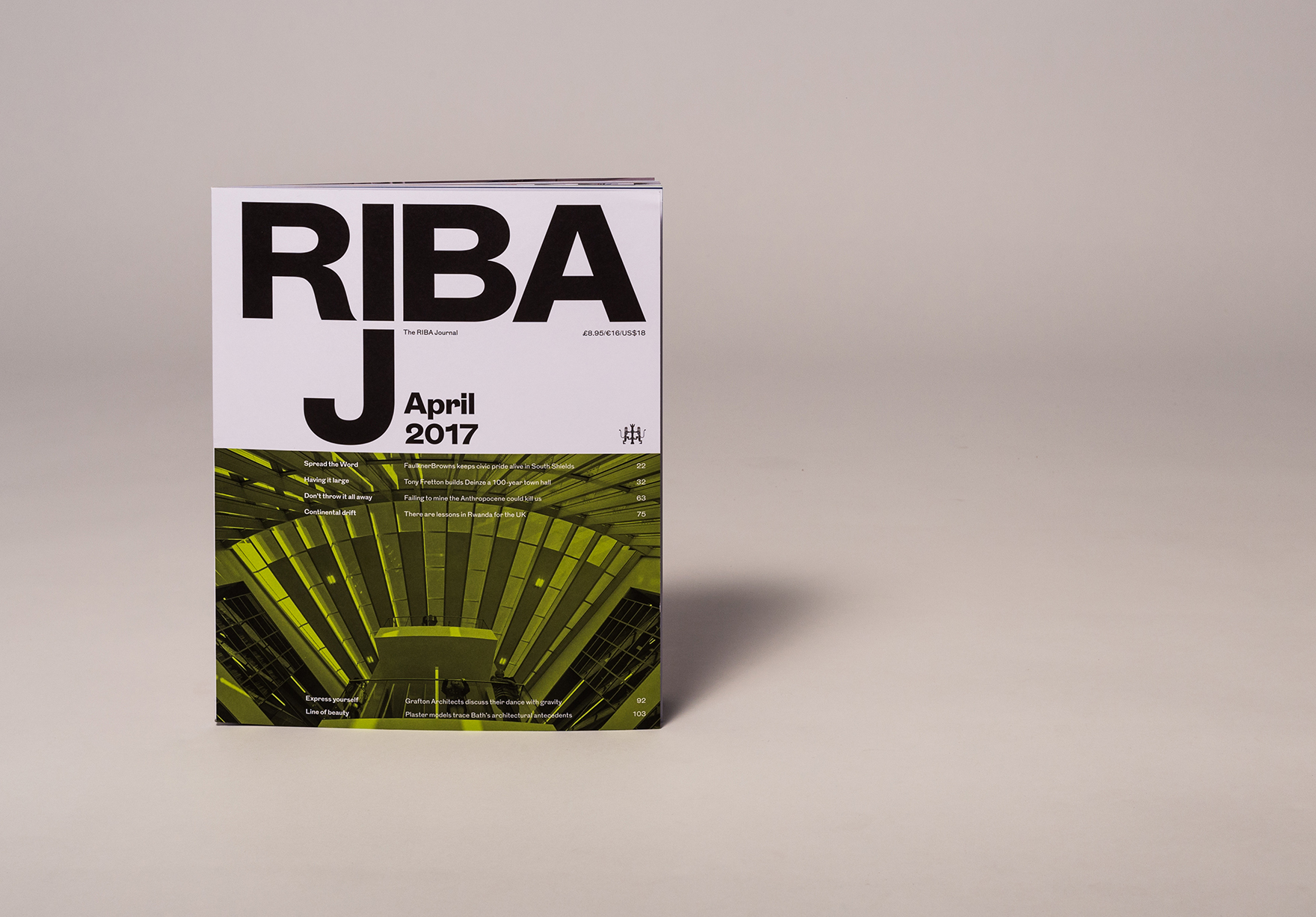 The Word In The Riba Journal Cover Lh
