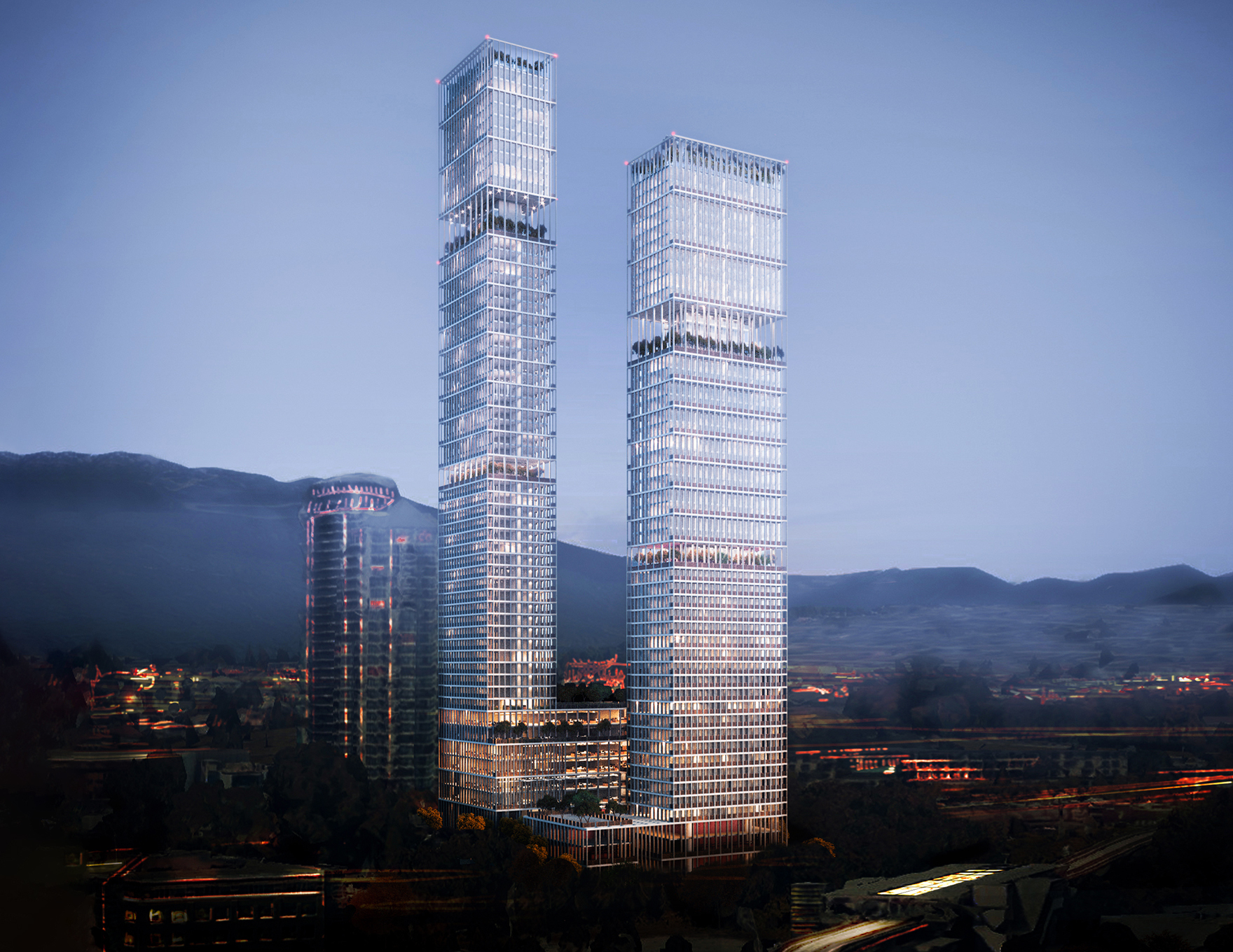 Vancouver Tower Feasibility Study Faulknerbrowns Canada L