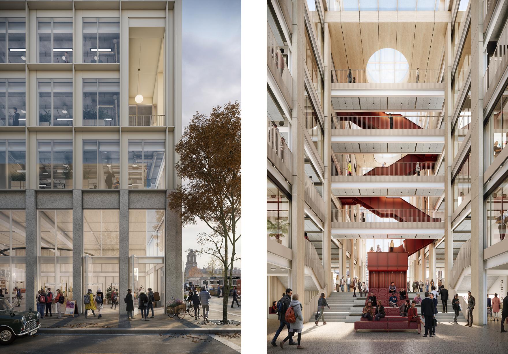 Vaux City Hall Construction Begins Sunderland Faulknerbrowns Architects 2 Lh
