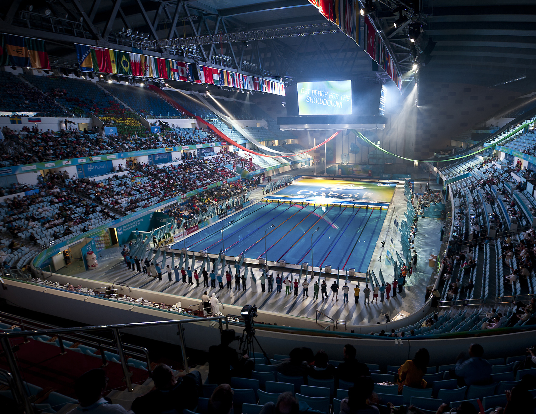 50M Pool Design Expertise Hamdan Sports Complex Dubai Fina World Swimming Championships L