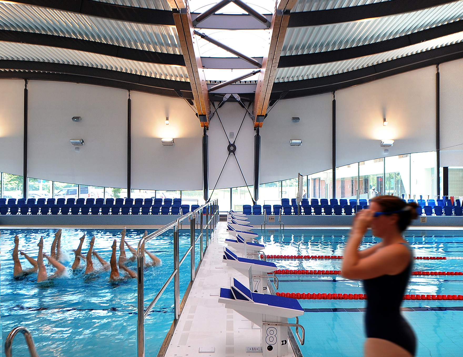 50m pools faulknerbrowns - Loughborough university swimming pool ...