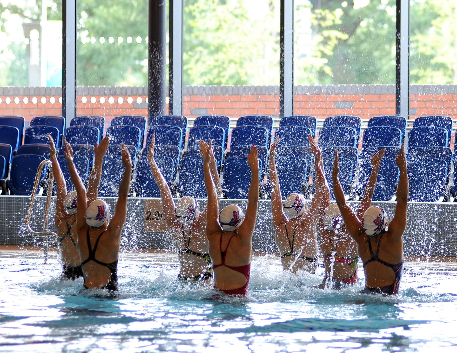 Community Leisure Expertise Aqua Aerobics At Surrey Sports Park L