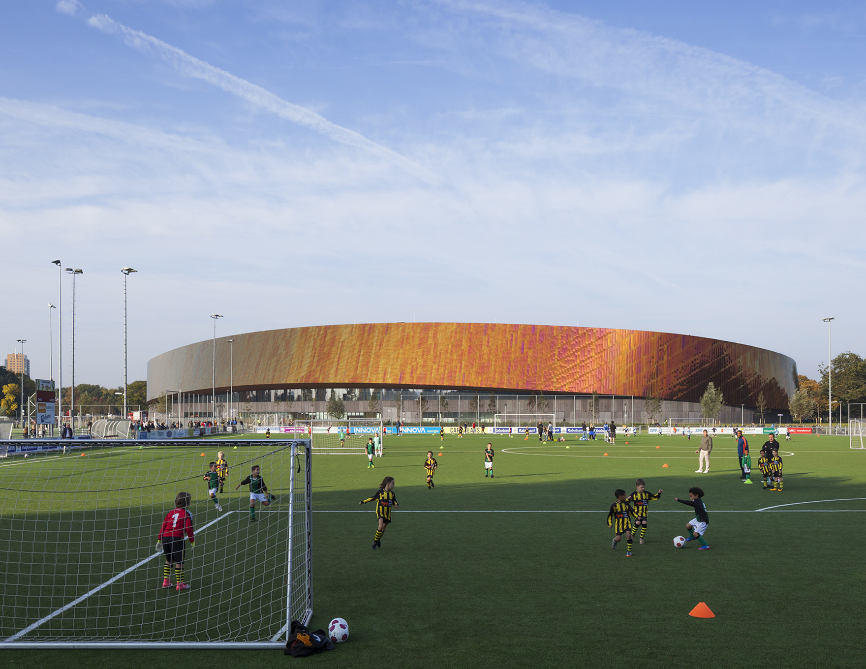 Community Leisure Expertise Sportcampus Zuiderpark External From Football Pitches L