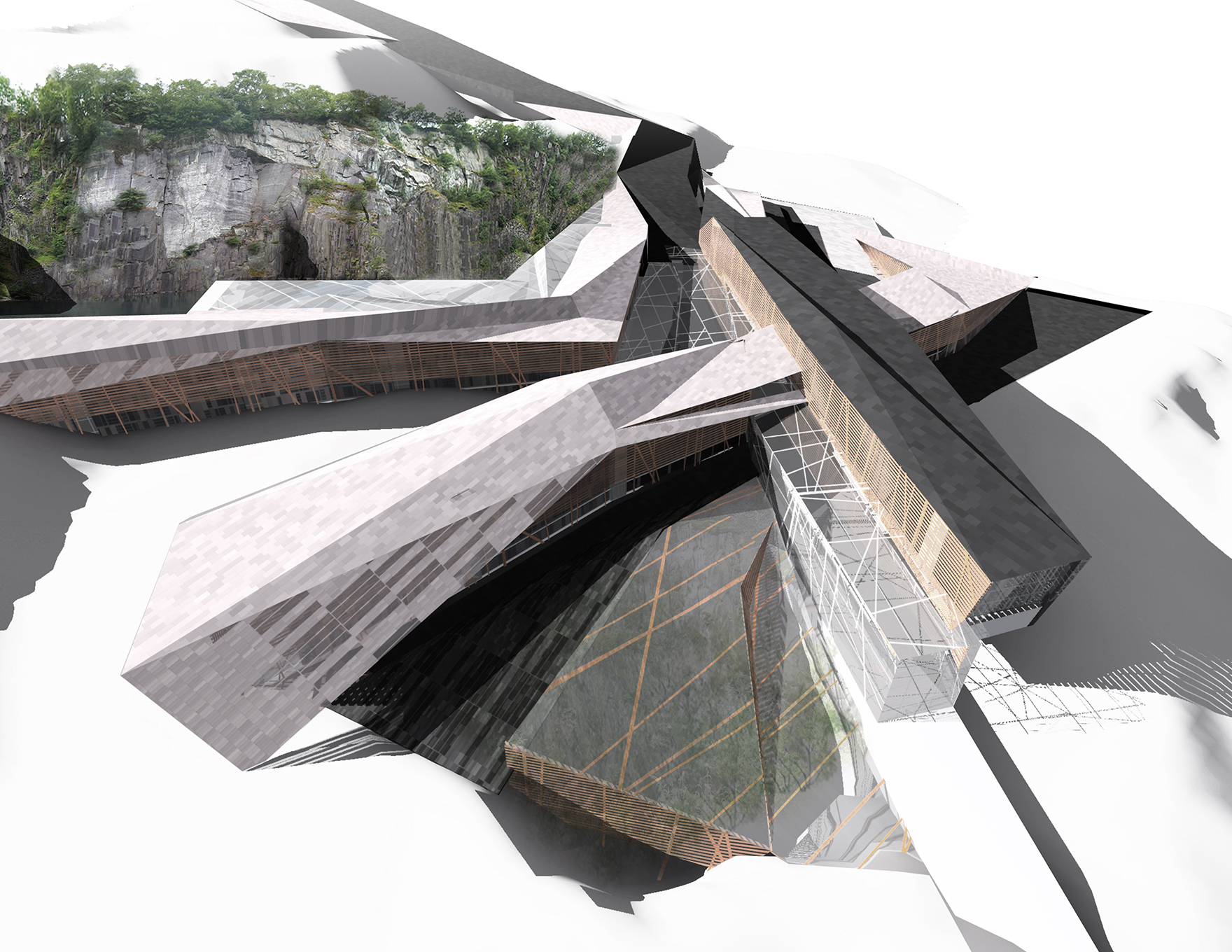 Indoor Snow Expertise Snowdonia Gateway Wales Concept L