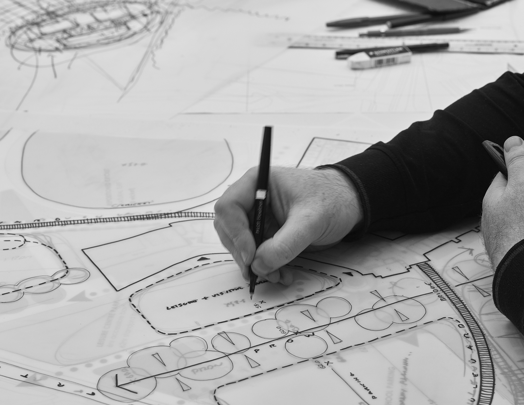 Inspirational Schools Design Architectural Hand Sketching Concepts L