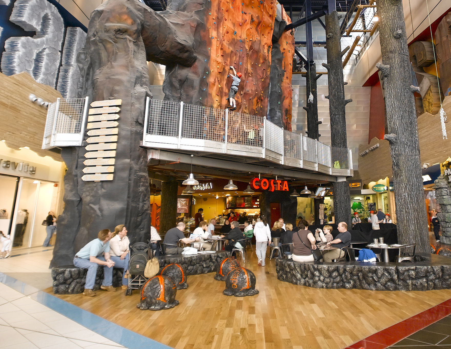 Retail Design Expertise Leisure Experience Mall Xscape Braehead L