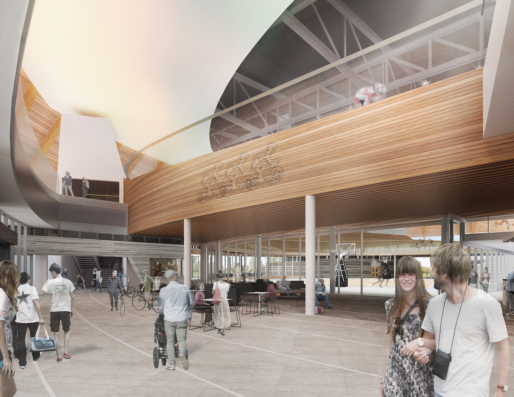 Velodrome Design Expertise Edmonton Community Velodrome L